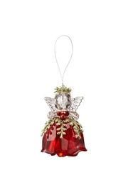 Ganz Rosebud Angel Ornament - Product Mini Image