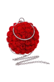 Madison Avenue Accessories Rosebud Round Clutch - Product Mini Image