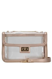 MMS Trading Rosegold Clear Purse - Product Mini Image
