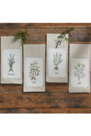 Park Designs Rosemary Herb T-Towel - Product Mini Image