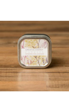 Creative Energy Candles Rosemary/ Lavender Lotion Small Tin - Alternate List Image