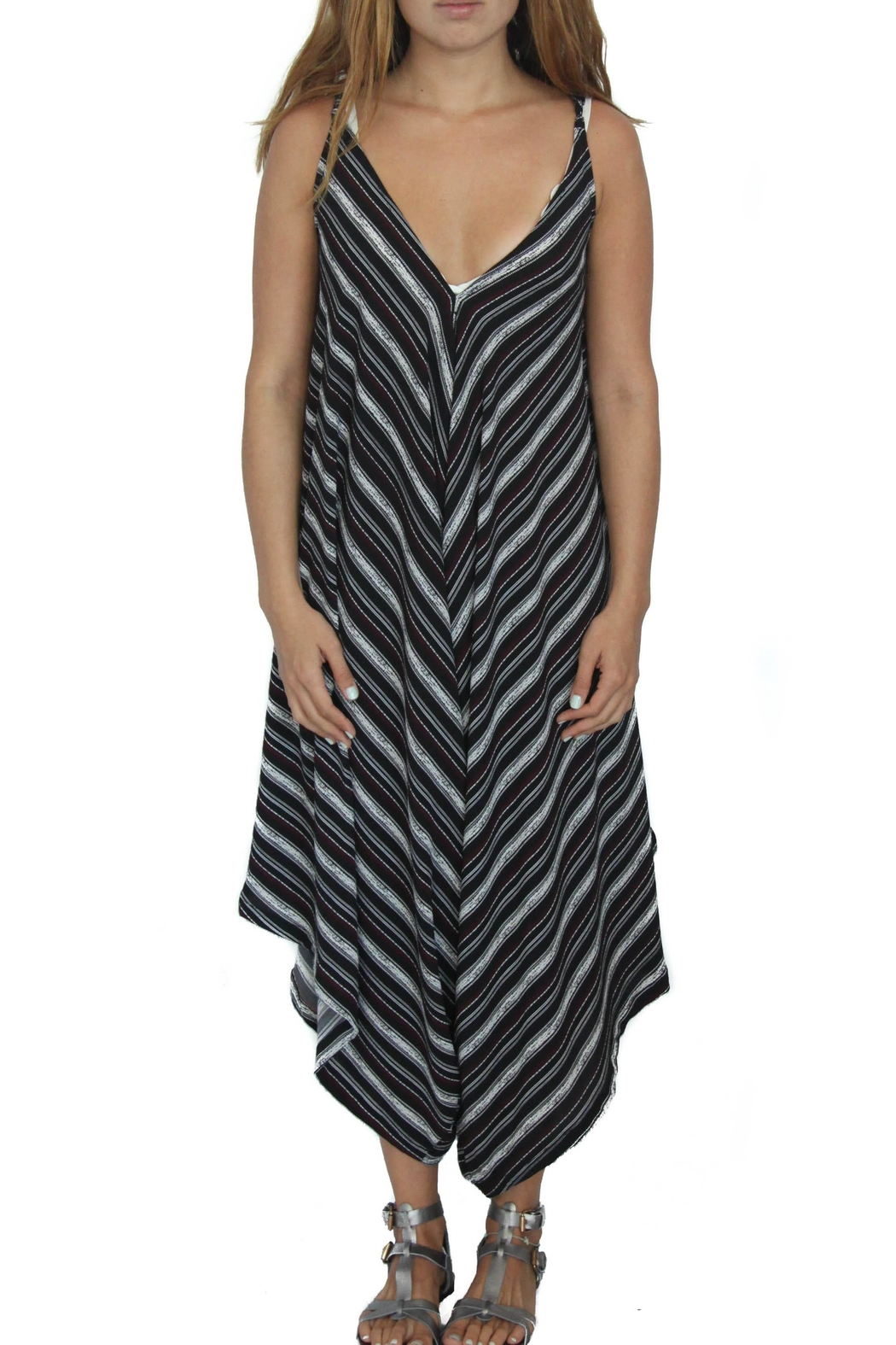 Rosemary Collective Cabo Night Jumpsuit - Main Image