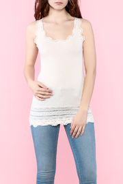 Rosemunde Lace Trim Tank - Product Mini Image