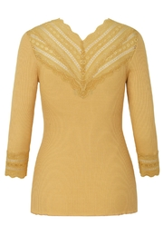 Rosemunde Top With Lace - Product Mini Image