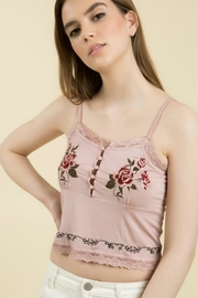 POL Roses Are Red Cami - Product Mini Image