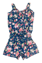 R+D  Roses Romper - Front cropped