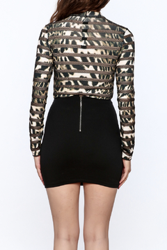 Rosette Leopard Bodysuit - Alternate List Image