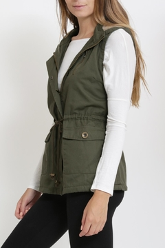 Rosette Padded Military Vest - Alternate List Image