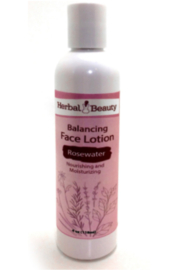 Herbal Beauty Rosewater Face Lotion - Product Mini Image