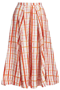 Rosie Assoulin Pleated Skirt - Alternate List Image