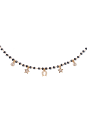 Tess + Tricia Rosie Beaded Necklace - Side cropped