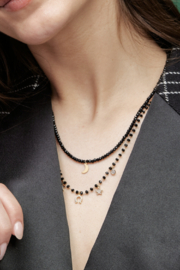 Tess + Tricia Rosie Beaded Necklace - Front full body