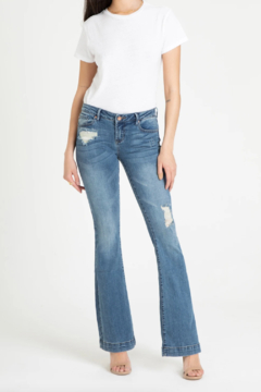 Shoptiques Product: Rosie Flare Jetsetter Jeans