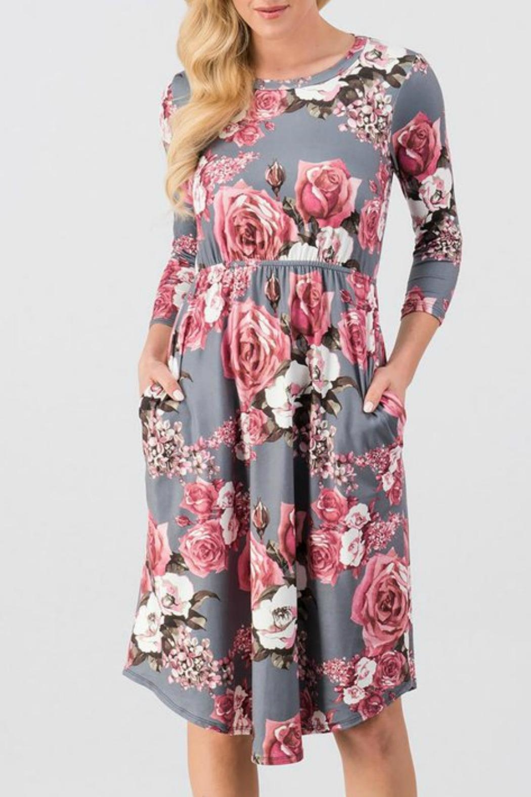 Trend:notes Rosie Floral Dress - Main Image