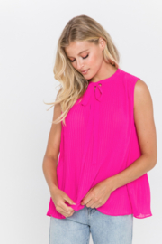 Endless Rose Rosie Pleat Front Top - Product Mini Image