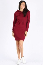 Rosio Pullover Hoodie Dress - Product Mini Image