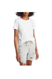 N: Philanthropy Ross Distressed Tee - Side cropped