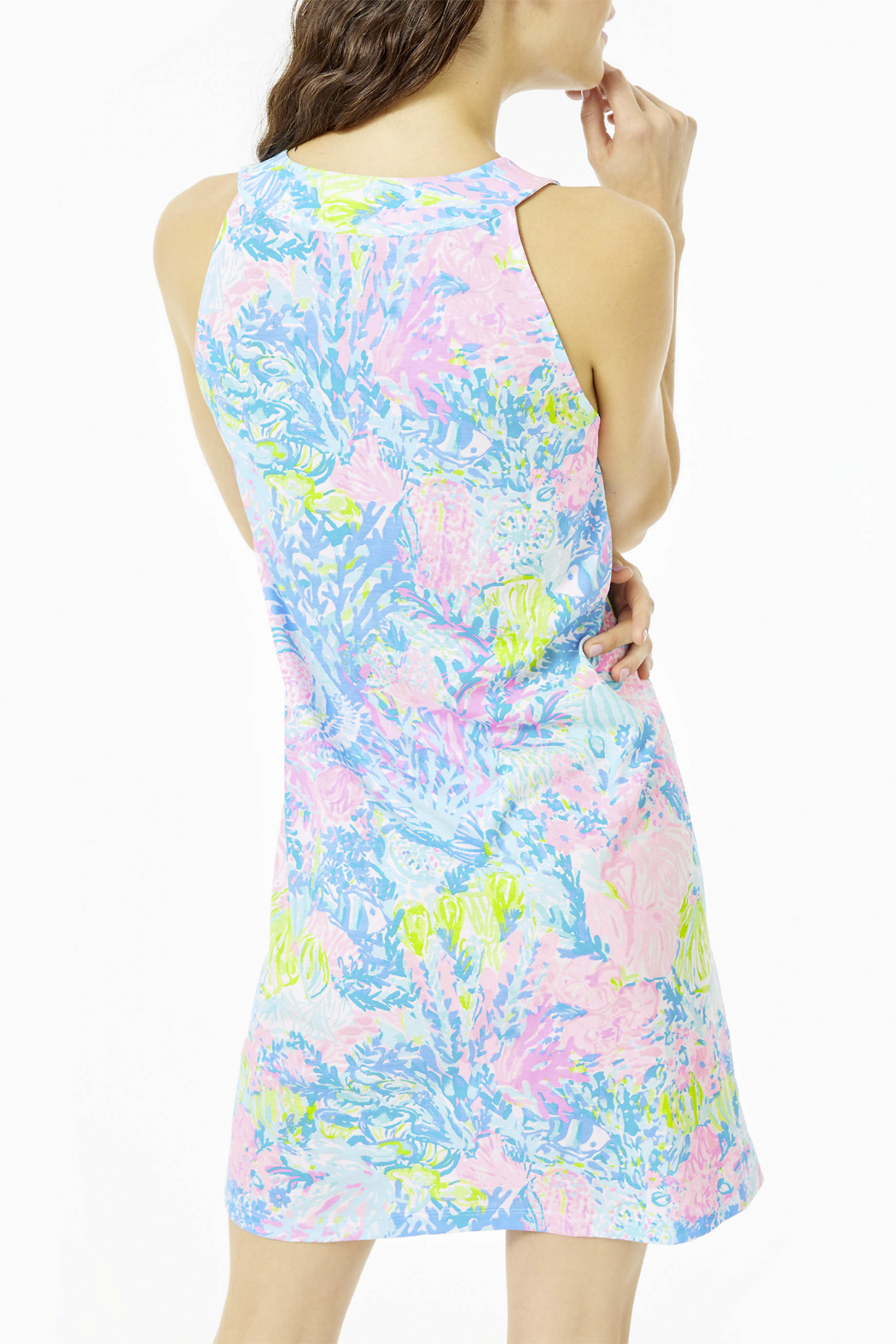 Lilly Pulitzer  Ross Shift Dress - Side Cropped Image