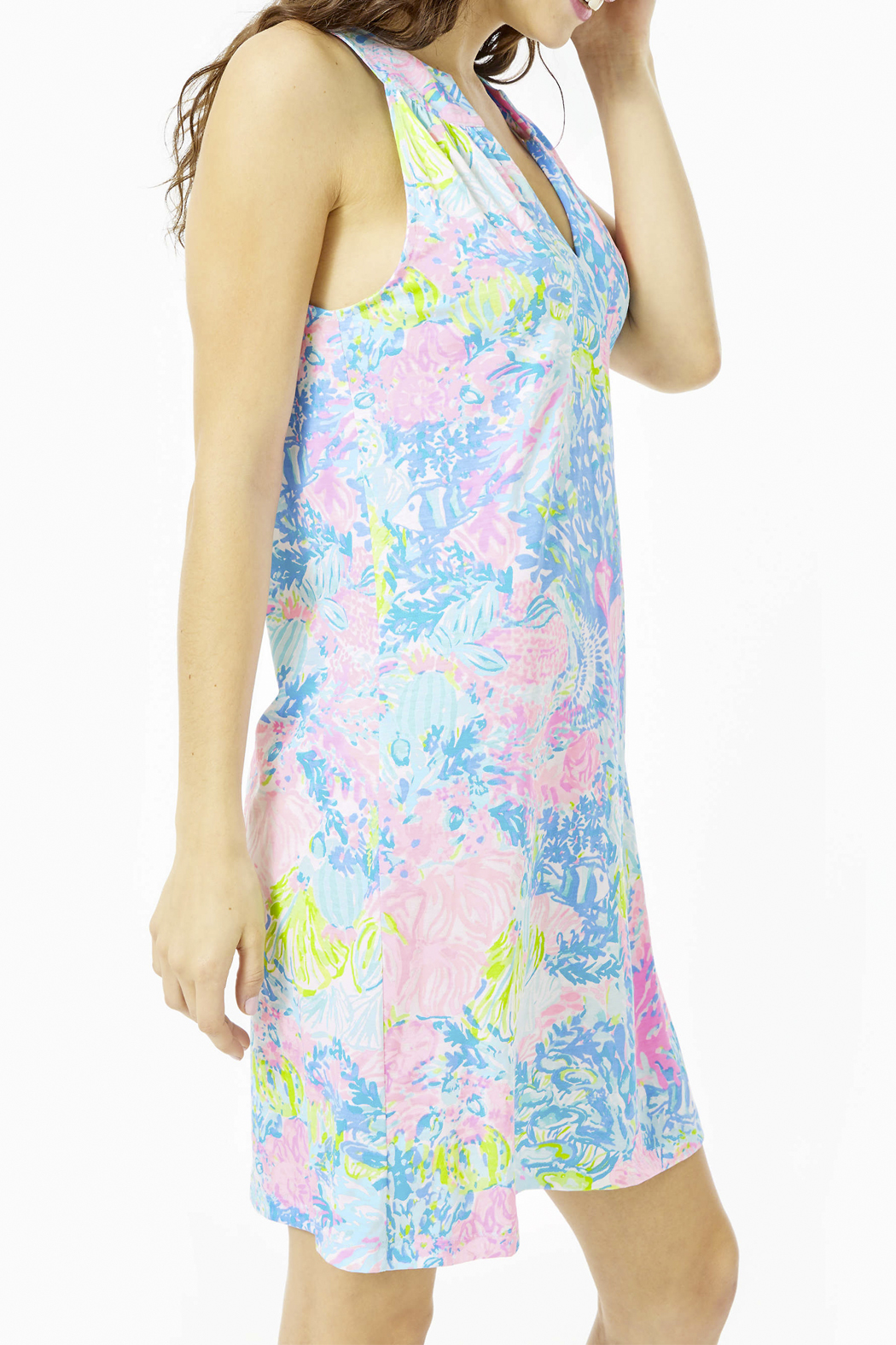 Lilly Pulitzer  Ross Shift Dress - Front Full Image