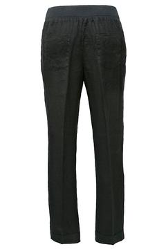 rosso 35 Black Linen Trousers - Alternate List Image