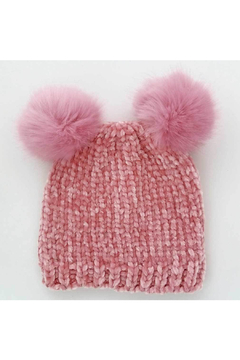 Huggalugs Rosy Chenille Beanie - Product List Image