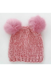 Huggalugs Rosy Chenille Beanie - Front cropped