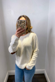 melrose  ROSY PATCH SWEATER - Product Mini Image