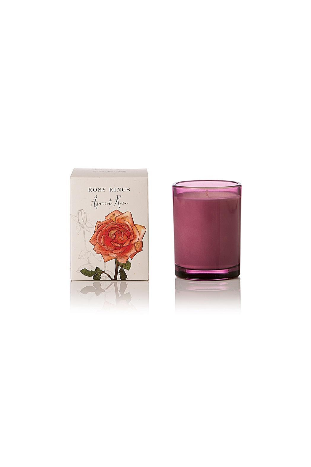 Rosy Rings Apricot Rose Candle - Main Image