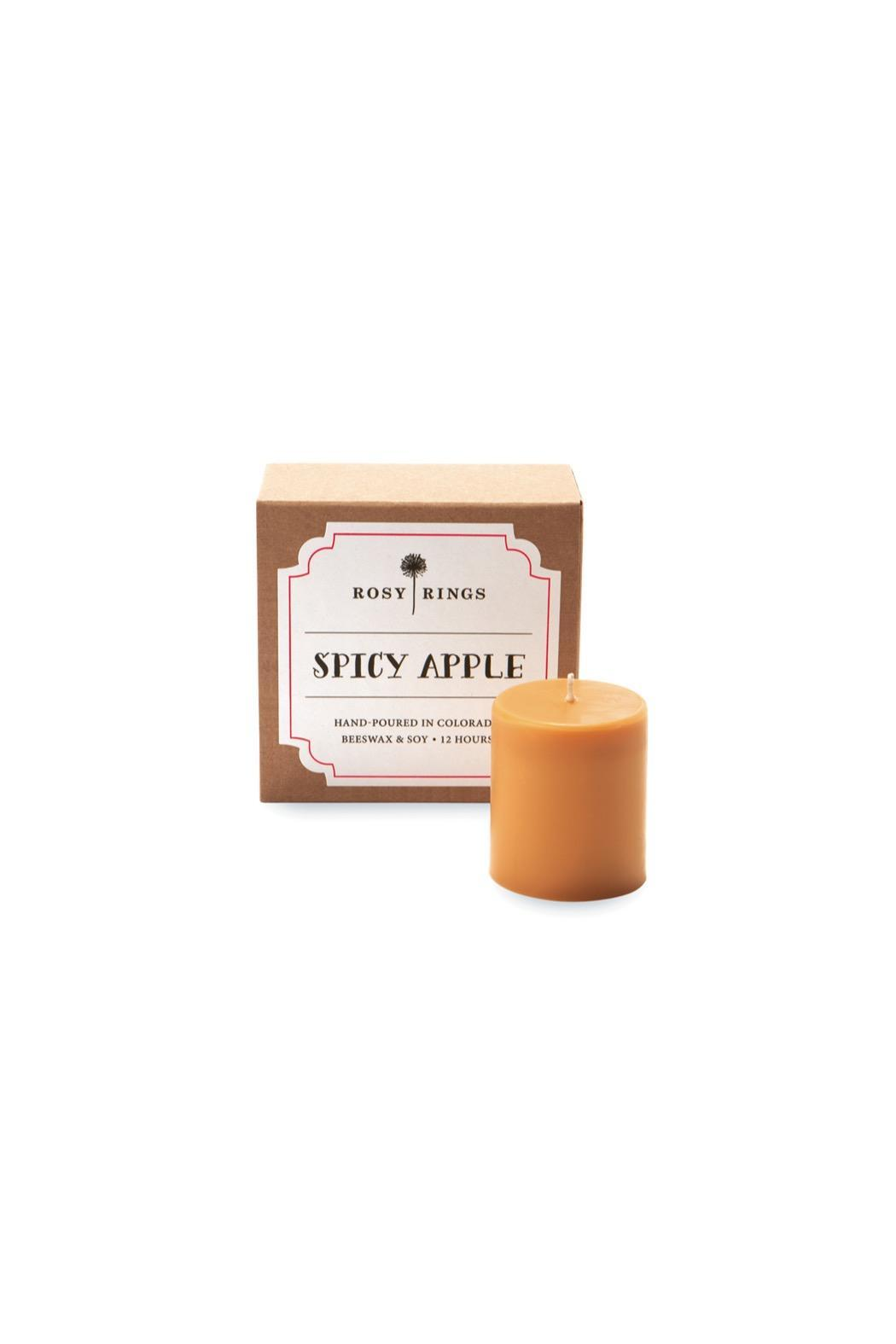 Rosy Rings Spicy Apple 4-Pack Votives - Main Image