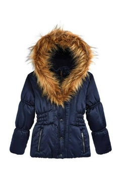Shoptiques Product: Hooded Puffy Coat