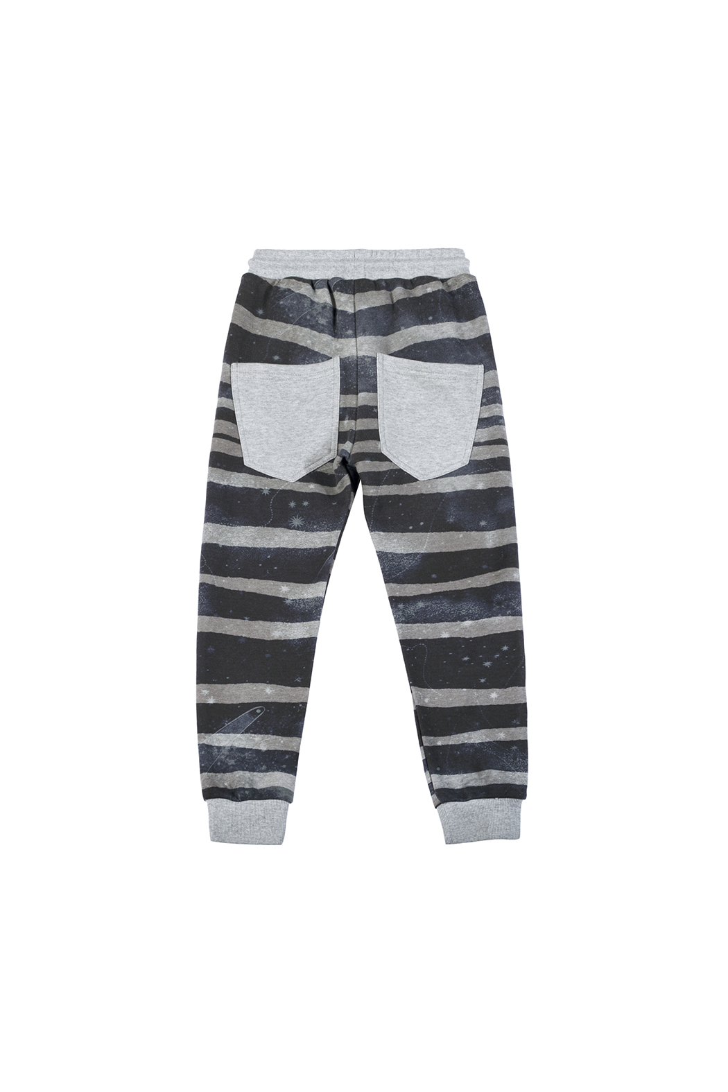 Paper Wings Rough Stripe Classic Trackies - Front Full Image