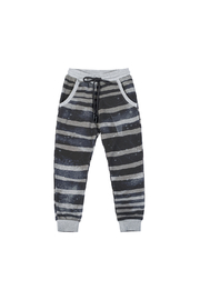 Paper Wings Rough Stripe Classic Trackies - Front cropped