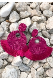 Chynna Dolls Round Beaded Earrings - Product Mini Image