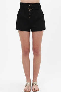 Love Tree  Round Buckle Shorts - Product List Image