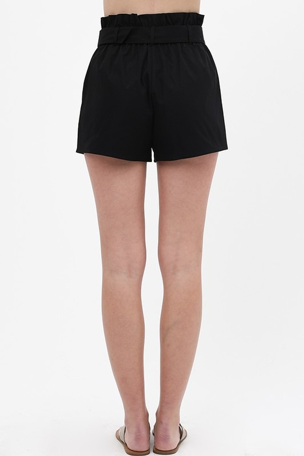 Love Tree  Round Buckle Shorts - Front Full Image