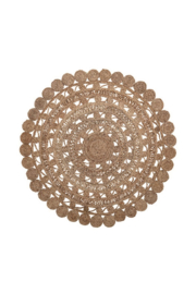 Bloomingville Round Hand-Woven Jute Rug - Product Mini Image