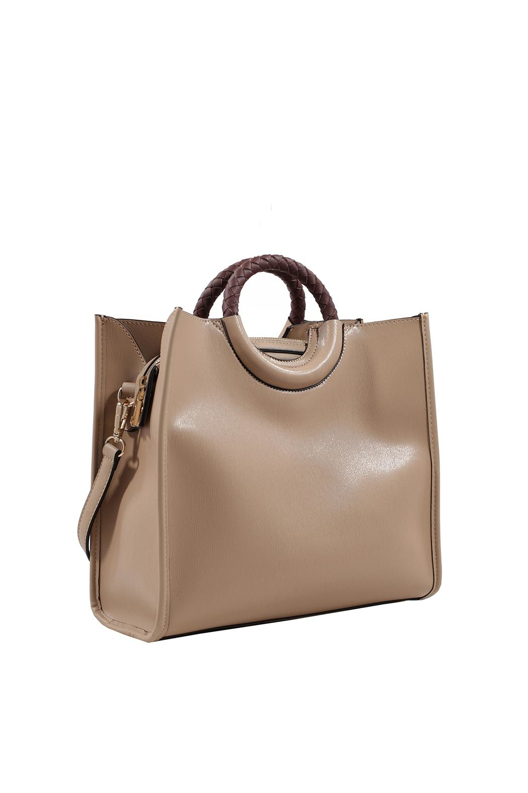 Isabelle Round Handle Bag - Front Cropped Image