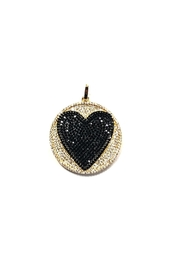 OMG Blings Round Heart Charm - Product Mini Image