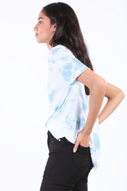Final Touch Round Hem Tee - Front full body