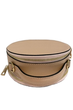 Leather Country Round Leather Satchel - Alternate List Image