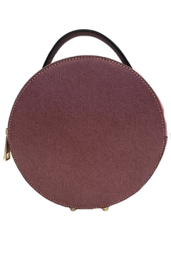 Leather Country Round Leather Satchel - Product List Image