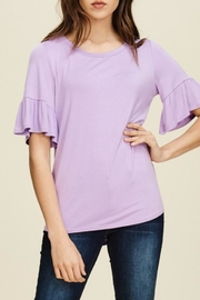 annabelle Round-Neck Bell Sleeve - Front cropped