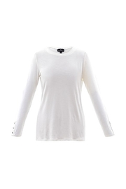 Marble Round Neck Layering Piece - Product Mini Image