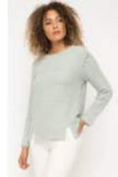 Mystree Round Neck Long Sleeve Sweater - Product List Image