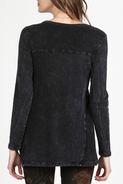 M.Rena Round neck long sleeve tunic - Front full body