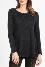 M. Rena Round neck long sleeve tunic - Product Mini Image