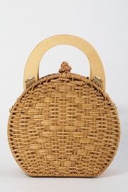 Style Trolley Round Rattan Purse - Product Mini Image