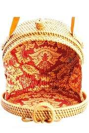 AGP Apparel Round Rattan-Straw Bag - Side cropped