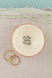 Natural Life Round Ring Dish - Front cropped