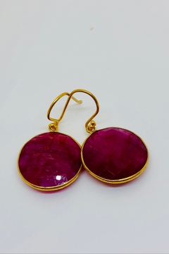 Jill Duzan Round Ruby Bezel - Alternate List Image